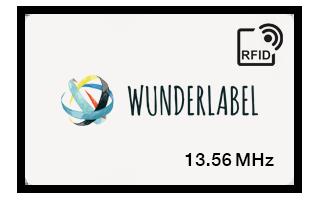 Carte plastique RFID 13.56 MHz