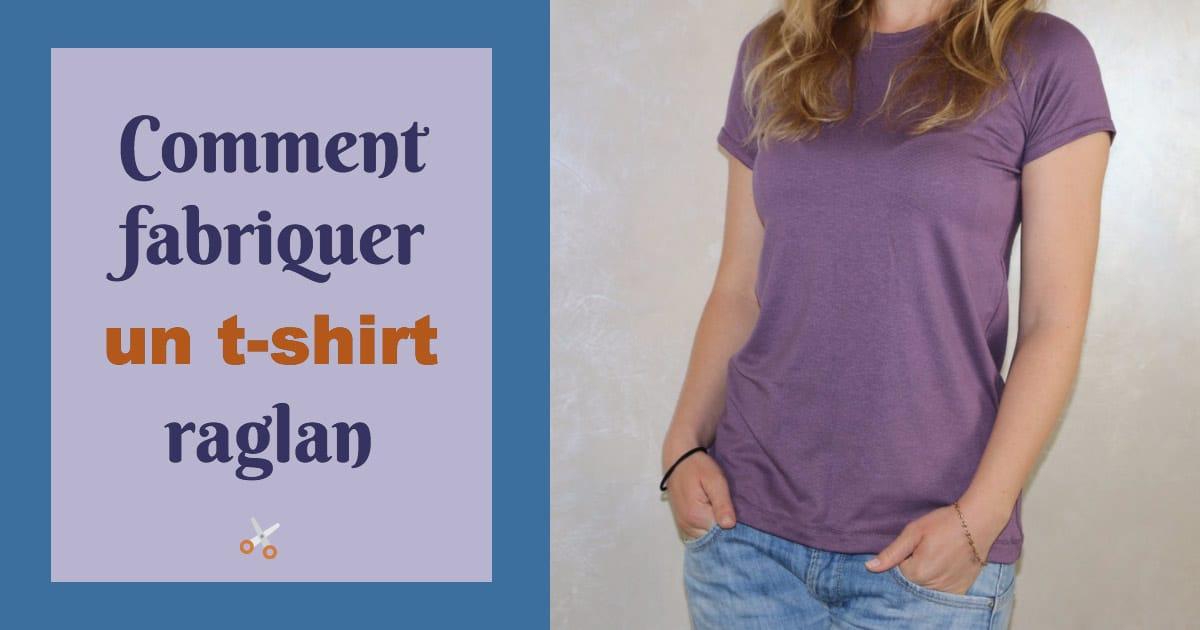 Comment fabriquer un t-shirt raglan