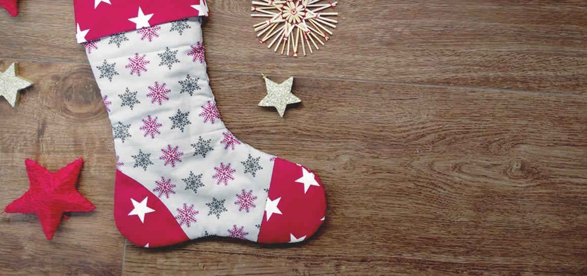 Chaussettes de Noël maison