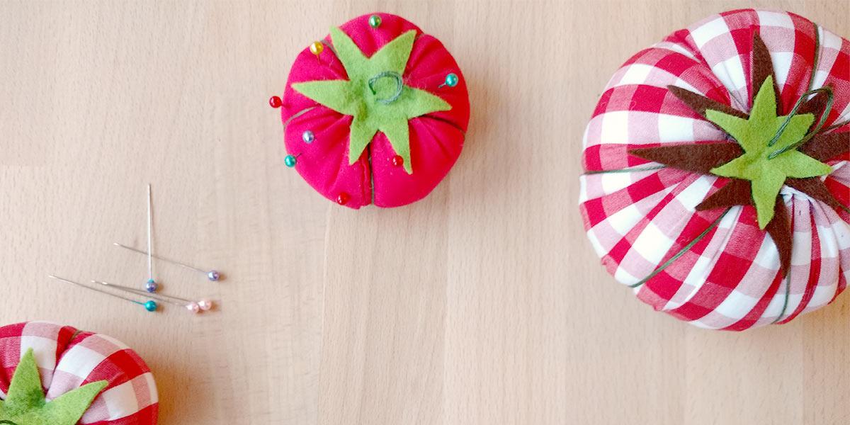 Créez votre propre coussin à épingles tomate!