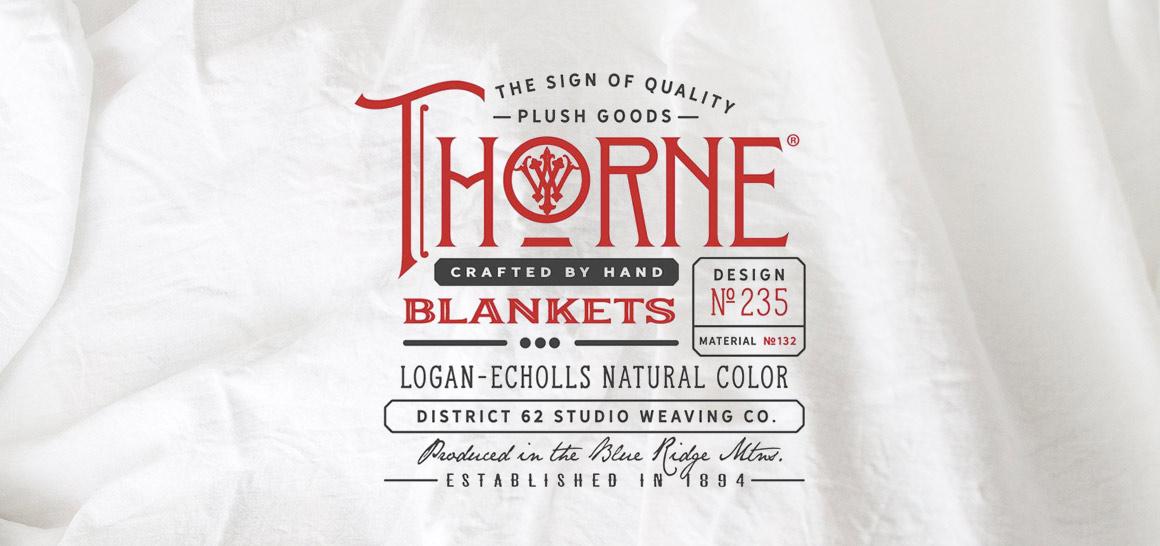 Nos Clients Coup de Coeur: Thorne Blanket Company