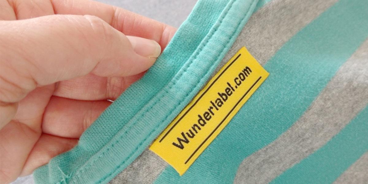 Appliquer des étiquettes thermocollantes