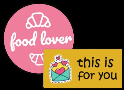 Stickers classiques avec texte & symbole - design en ligne