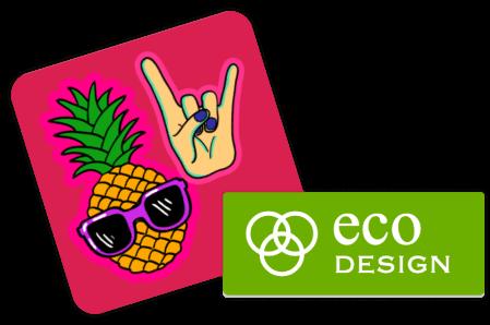 Stickers sur mesure - téléchargez votre design ou logo