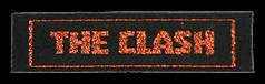 Étiquettes tissées classiques avec texte scintillant & symbole - design en ligne