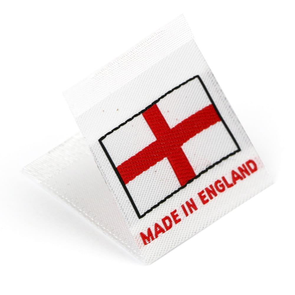Étiquettes Drapeaux Tissées 'Made in England'