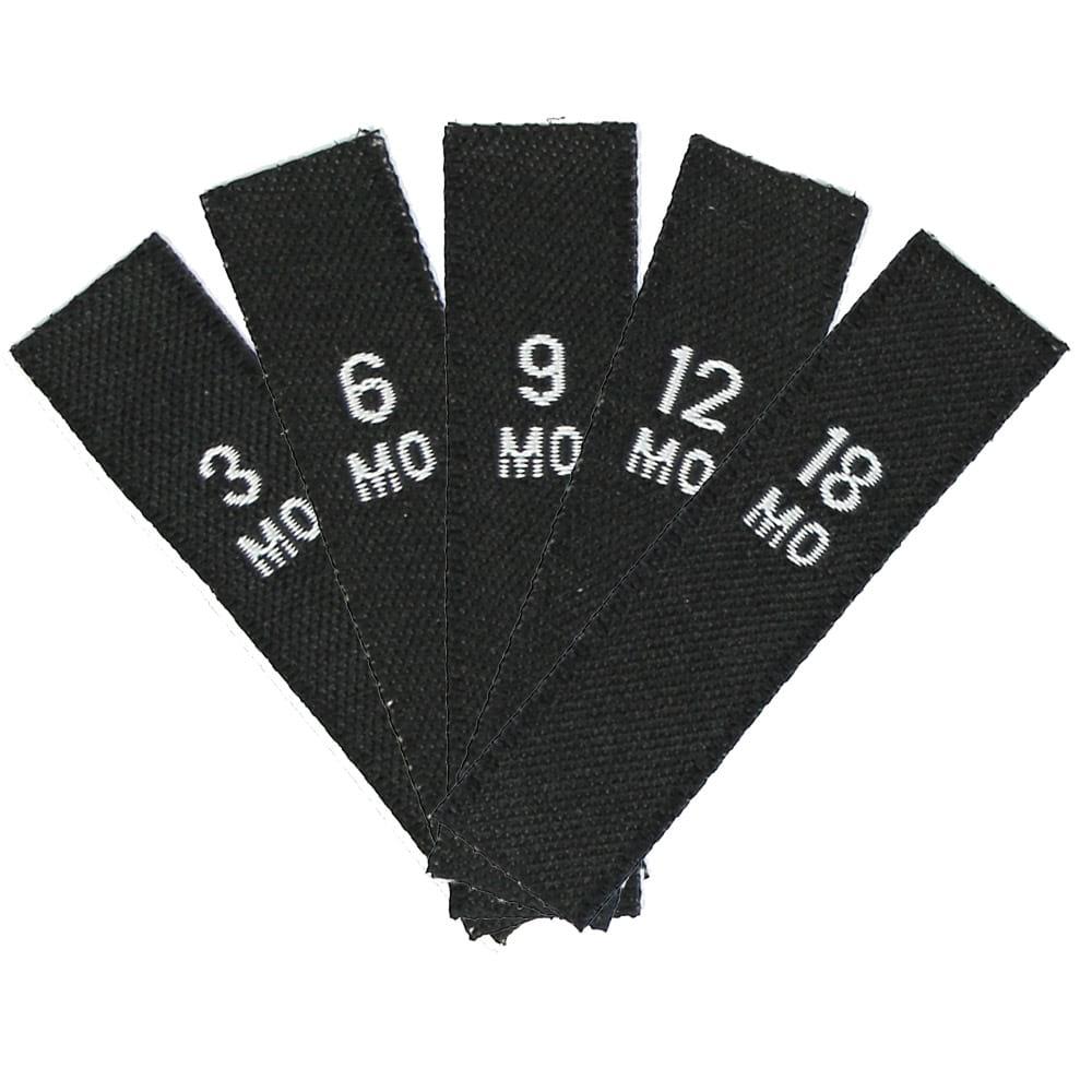 Set de Tailles - Tailles Enfants (3MO - 18MO) Noir