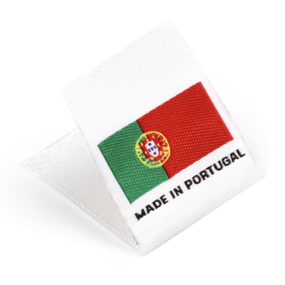 Étiquettes Drapeaux Tissées 'Made in Portugal'