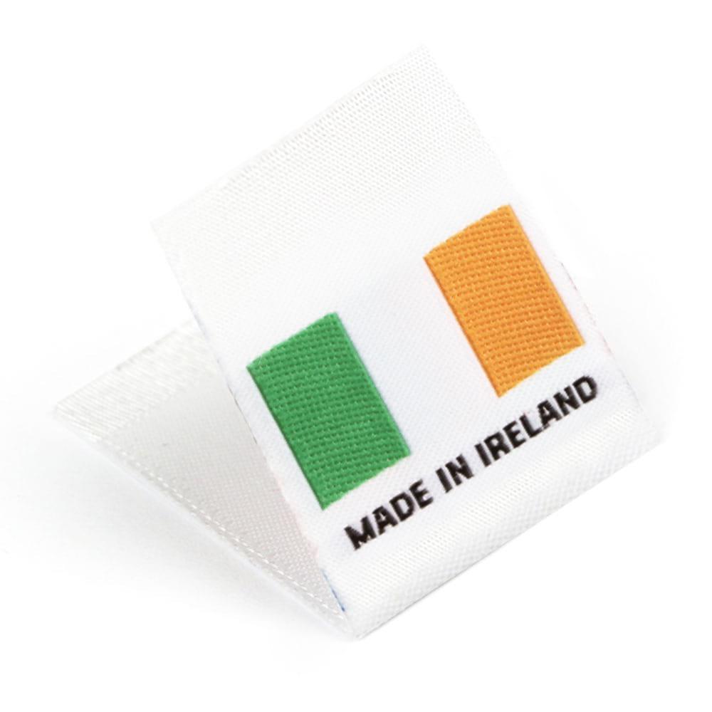 Étiquettes Drapeaux Tissées 'Made in Ireland'