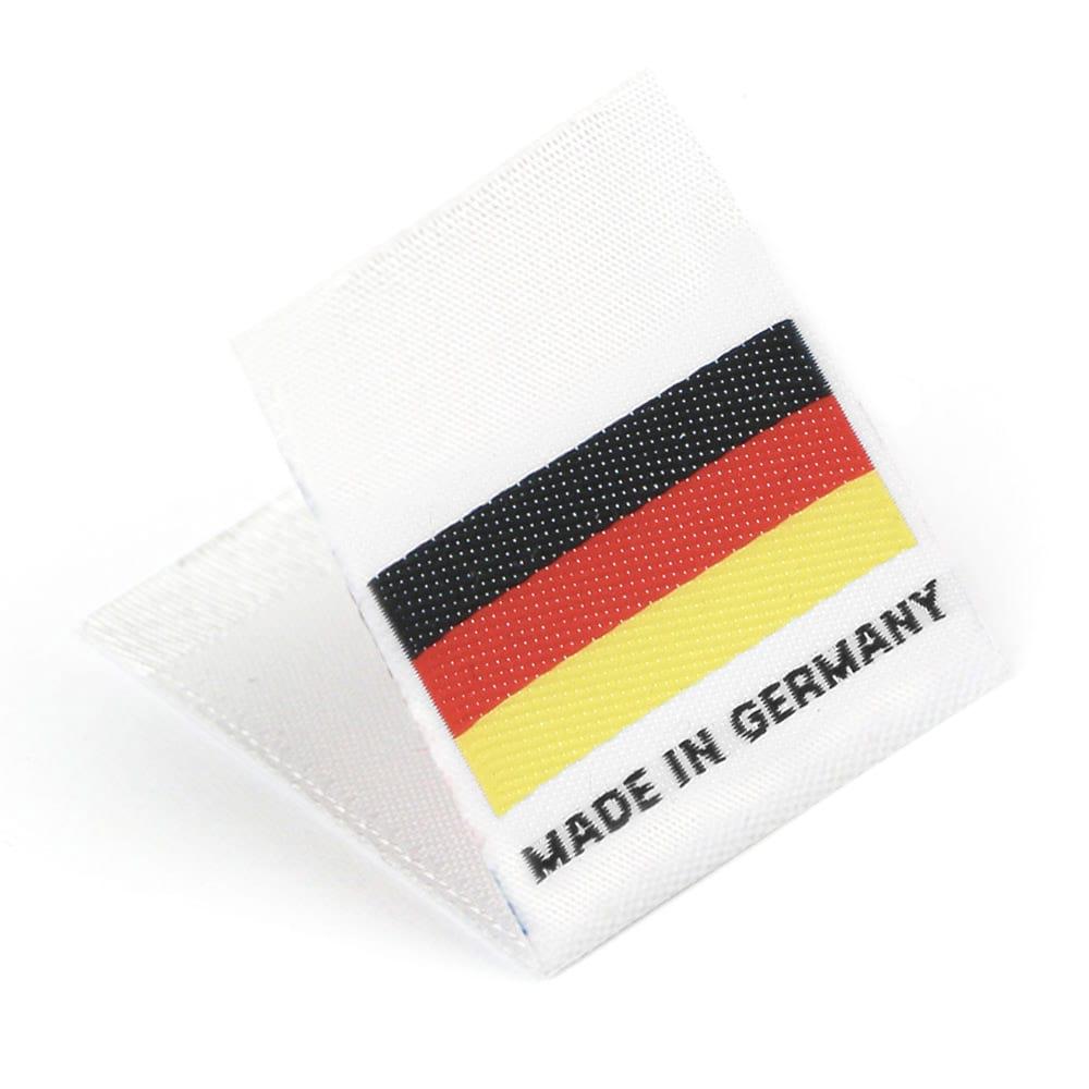 Étiquettes Drapeaux Tissées 'Made in Germany'